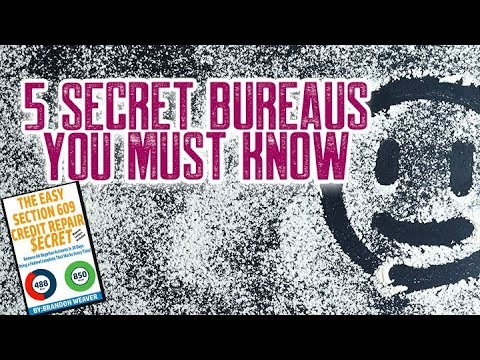 5-secret-bureaus-you-must-know-remove-all-negative-items-remove-collections-credit-repair