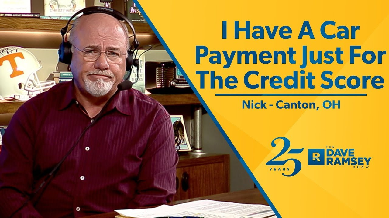 i-have-a-car-payment-just-for-the-credit-score