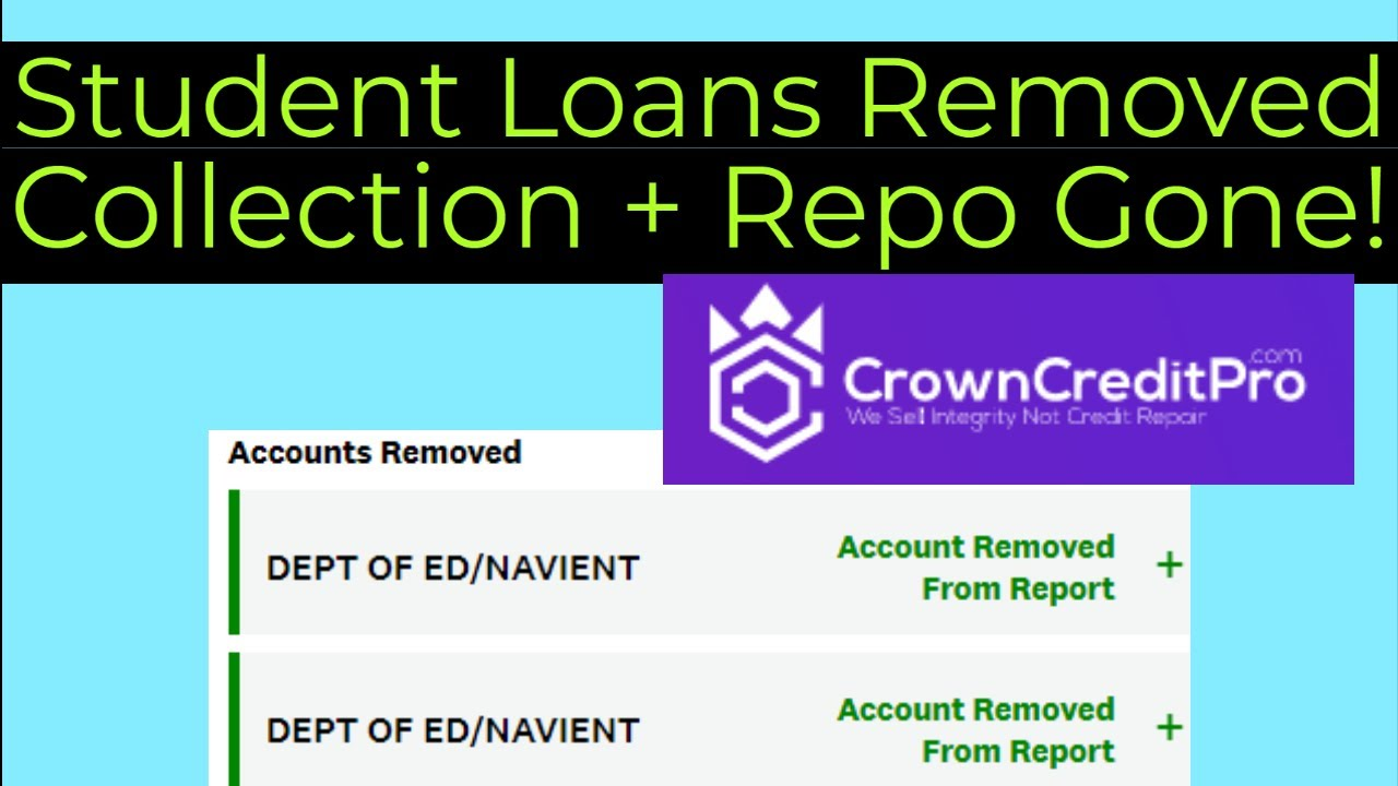 the-credit-repair-goat-27000-student-loan-collection-and-repo-removed-by-crown-credit-pro